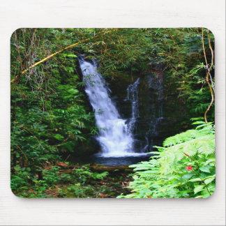 Hawaiische Wasserfälle Mousepad