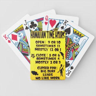 hawaiische Zeit Bicycle Spielkarten