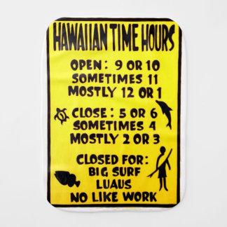 hawaiische Zeit Spucktuch