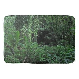 Hawaiischer Dschungel Badematte