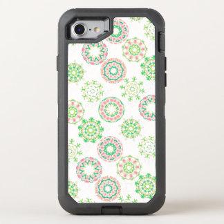 Hawaiischer Eis-Schnee-tropische rosa OtterBox Defender iPhone 8/7 Hülle