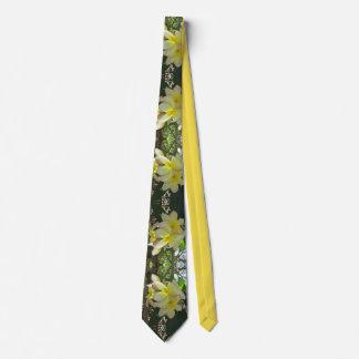 Hawaiischer Plumeria Individuelle Krawatten