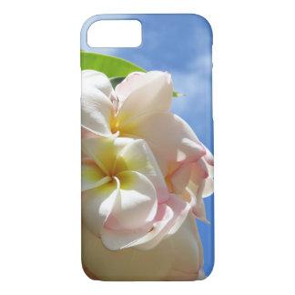 Hawaiischer Plumeria iPhone 7 Hülle