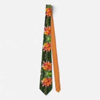 Hawaiischer Plumeria Krawatte