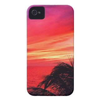Hawaiischer Sonnenuntergang iPhone 4 Case-Mate Hülle