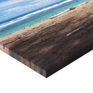 Hawaiischer Strand-Leinwand-Druck Leinwanddruck