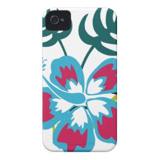 Hawaiisches Blumen Case-Mate iPhone 4 Hülle