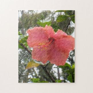 Hawaiisches Blumen-Puzzlespiel Puzzle