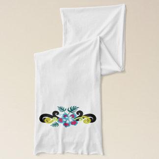 Hawaiisches Blumen Schal
