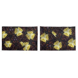 Hawaiisches Gelb butterfly1 Kissenbezug