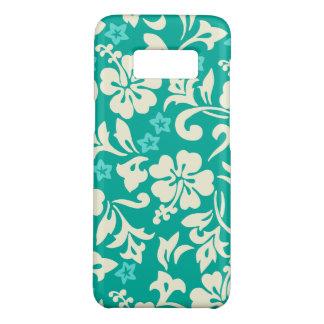Hawaiisches Hibiskus-Grün Kapalua Pareau Case-Mate Samsung Galaxy S8 Hülle