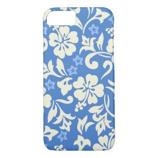 Hawaiisches Hibiskus-Singrün Kapalua Pareau iPhone 8/7 Hülle