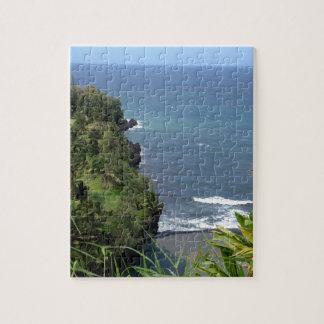 Hawaiisches Küsten-Puzzlespiel Puzzle