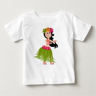 Hawaiisches Mädchen Baby T-shirt