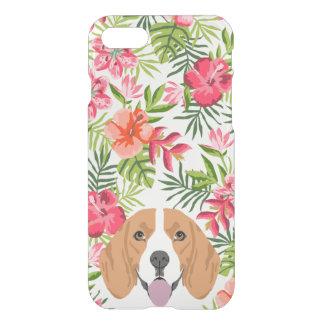 Hawaiisches tropisches Blumen des iPhone 8/7 Hülle