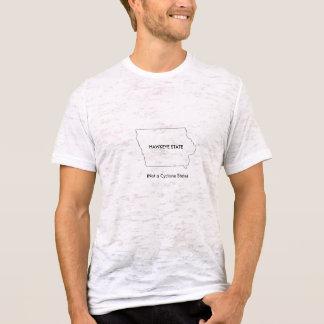 HAWKEYE STAAT (nicht ein Wirbelsturm-Staat) T-Shirt