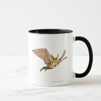 Hawkman fliegt tasse