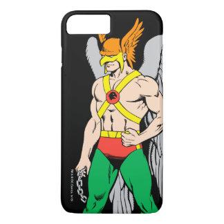 Hawkman stehende Pose iPhone 8 Plus/7 Plus Hülle