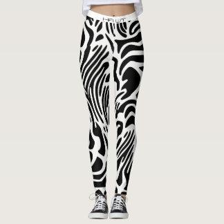 HAWT Gamaschen (Zebra) Leggings