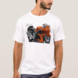 Hayabusa Orangen-Fahrrad T-Shirt