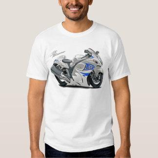 Hayabusa Weiß-Blaues Fahrrad Shirts