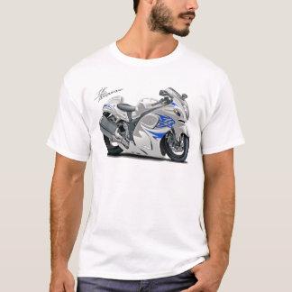 Hayabusa Weiß-Blaues Fahrrad T-Shirt