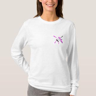 Hayden der Hoodie-weiblicher Entwurf T-Shirt