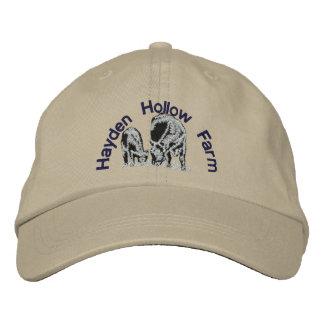 Hayden hohle Bauernhöfe - Kleidung Bestickte Baseballkappe