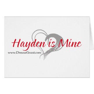 Hayden Karte