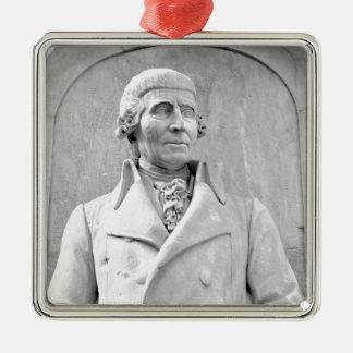 Haydn Quadratisches Silberfarbenes Ornament