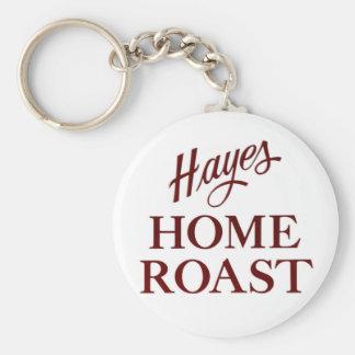 Hayes-Zuhause-Braten Keychain Schlüsselanhänger