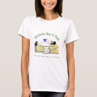 Hazienda-Heu u. füttert entspanntes Pferd T-Shirt
