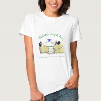 Hazienda-Heu u. füttert entspanntes Pferd T Shirts