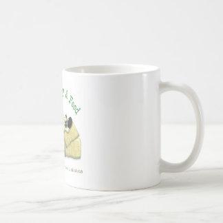 Hazienda-Heu u. füttert entspanntes Pferd Tasse