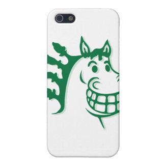 Hazienda-Heu u. füttert grünes Pferd iPhone 5 Schutzhüllen