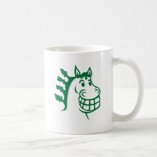 Hazienda-Heu u. füttert grünes Pferd Tasse