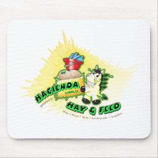 Hazienda-Heu u. füttert Kinder Mauspad