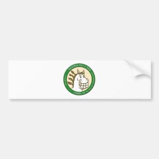 Hazienda-Heu u. füttert Logo Autoaufkleber