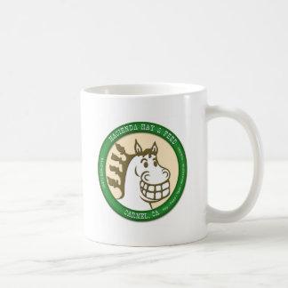Hazienda-Heu u. füttert Logo Tasse