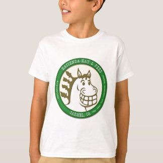Hazienda-Heu u. füttert Logo Tshirt