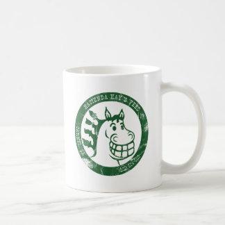 Hazienda-Heu u. füttert Tasse