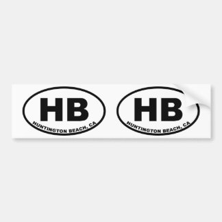 HB Huntington Beach Autoaufkleber