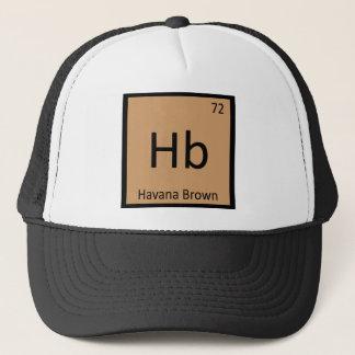 Hb - Katzen-Chemie-Periodensystem Havanas Brown Truckerkappe