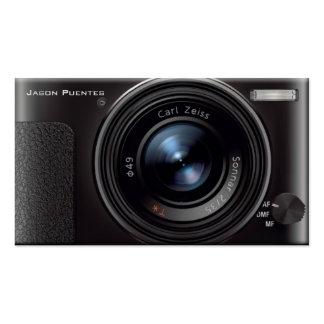 HD Linse-Digitalkamera-Fotograf Visitenkarten