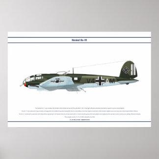 He-111 KG1 2 Plakatdrucke