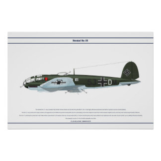 He-111 KG4 1 Poster