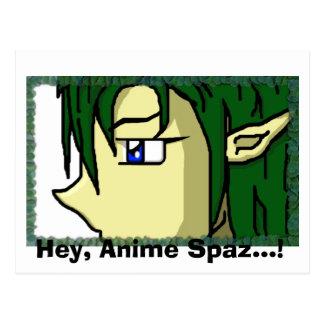 He, Anime Spaz…! Postkarte