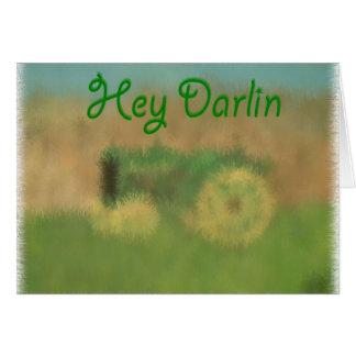 He Darlin Karte