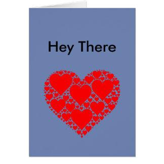 He dort Herz-Fraktalkarte Karte
