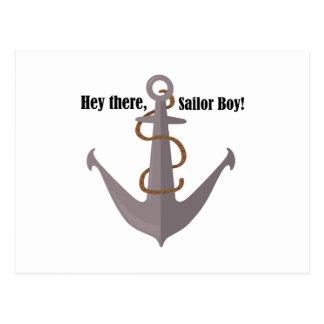 He dort Seemann Postkarte